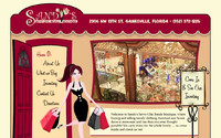 Sandy's Savvy Chic Retail Boutique by Spotlight Website Design: Gainesville Web Design | Alachua, Florida